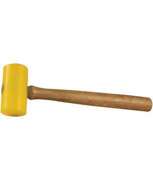 Poly Mallet-11'' Handle, 3.5''X1.5'' Head