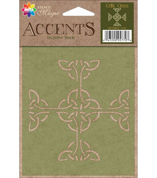Delta Creative Decorative Stencils Celtic Cross