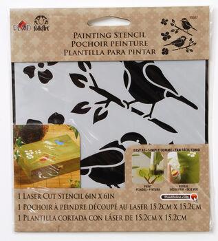 FolkArt ® Painting Stencils - Small - Birds