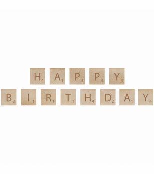 Kaisercraft Wooden Letter Words Birthday