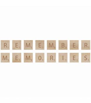 Kaisercraft Wooden Letter Words Remember