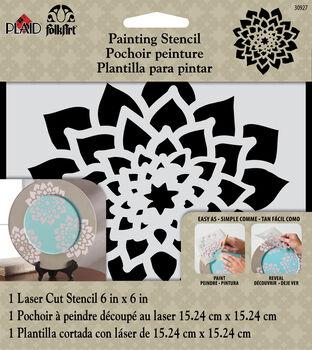 FolkArt ® Painting Stencils - Small - Dahlia