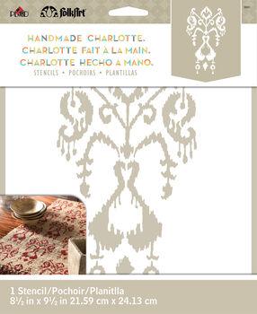 FolkArt ® Handmade Charlotte™ Stencils - Ikat