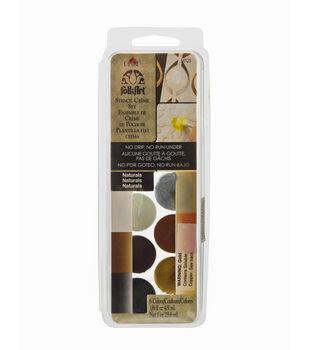 FolkArt ® Dry Brush Stencil Creme Set - Naturals