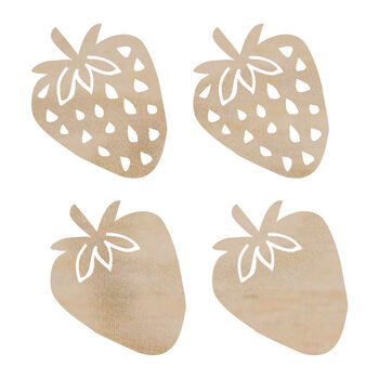 Strawberry-wood Flourishes