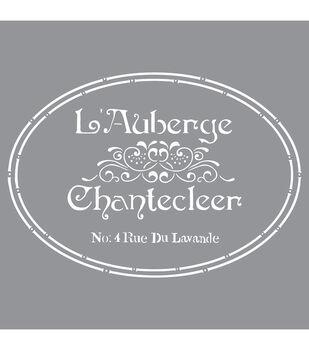 Decoart French Inn - American Decor Stencil