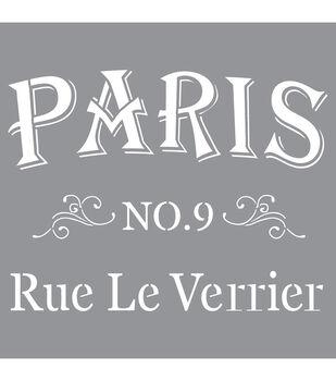Decoart Parisian - American Decor Stencil