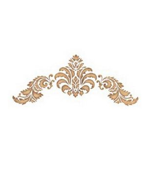 Stencil Magic Decorative Stencils-Baroque Flourish