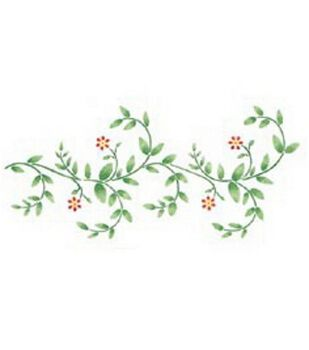 Stencil Magic Decorative Stencils-Delicate Vine Border