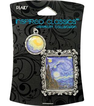 Plaid Inspired Classic Masters-Van Gogh Starry Night