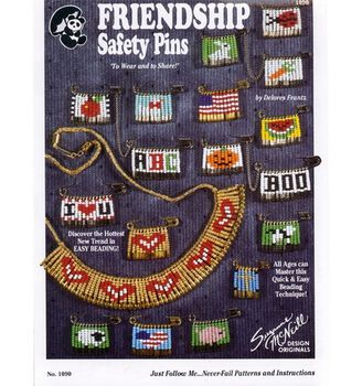 DMC Friendship Safety Pins Booklet