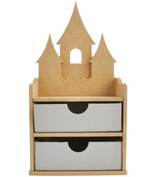 Kaisercraft Beyond The Page MDF Fairy Jewelry Drawers