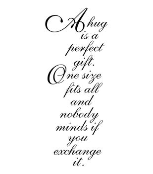 """Penny Black Rubber Stamp 2""""X3.75""""-Perfect Gift"""