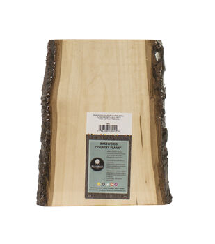 "Basswood Country Rectangle Plank-7"" to 9""x11"""