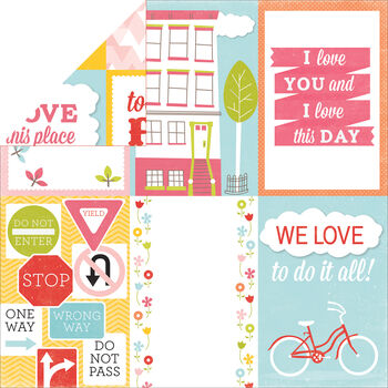Echo Park Paper Photo Freedom Fun In The Sun Love Today Cardstock
