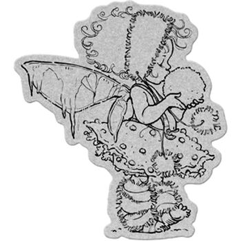 Penny Black Cling Rubber Stamp Winter Fairy