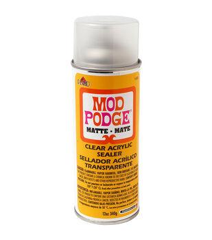 Mod Podge Clear Acrylic Aerosol Sealer 12oz-Matte