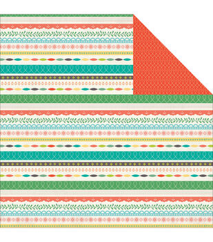 """Simple Life Double-Sided Cardstock 12""""X12""""-Note Worthy"""