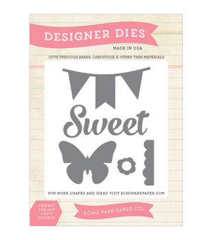 Echo Park Dies-Sweet, Butterfly, Banner