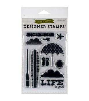 Echo Park Stamp Set-Beach Day