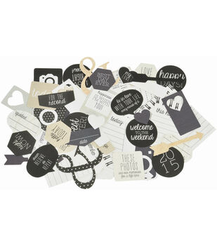 Kaisercraft Hello Today Collectables Cardstock Die-Cuts