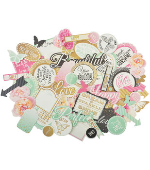 All That Glitters Collectables Cardstock Die-Cuts-