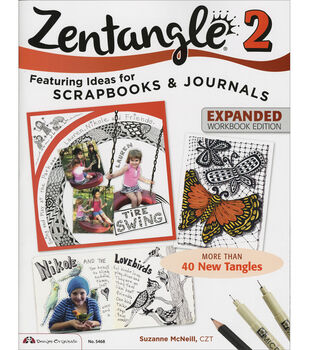 Zentngle 2-design Originals Bks