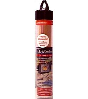 Artemboss 9-1/4''x12'' Foil Sheet-Copper/Light Weight