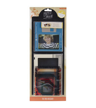 "Boys Rule Photo Overlays 2.5""X2.5"" To 4""X6"" 10/Pkg-"