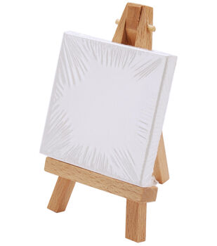 """Reeves Mini Canvas & Easel-2.5""""X2.75"""""""