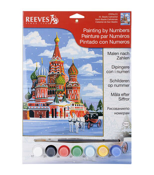 Reeves St. Basils Junior Paint By Number Kit