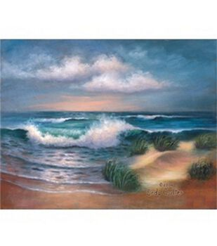 Oil Painting Masterpiece Set 11''X14''-Hampton Beach