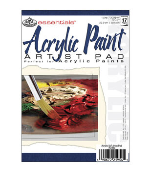 "Essentials Acrylic Paint Paper Pad 5""X7"""