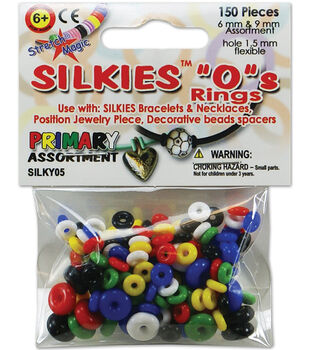 "Silkies ""O"" Rings 150/Pkg-Assorted"