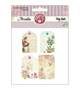 Arcadia Tags 24/Pkg-