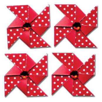 Queen & Co Pinwheel Stickers