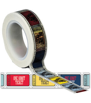 Travel Trendy Tape 15mm X 10yds-Tickets