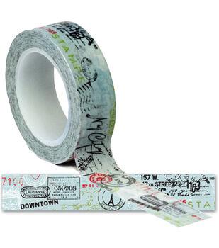Travel Trendy Tape 15mm X 10yds-Postmark