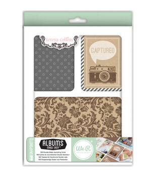 Teresa Collins albums Made Easy Journaling Cards 100/Pkg-Snapshots
