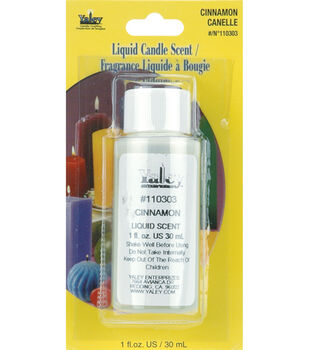 Liquid Candle Scent 1oz Bottle-Cinnamon