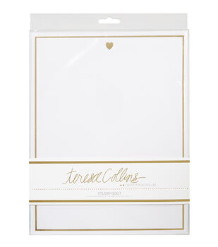 Teresa Collins Studio Gold Stationery Pack