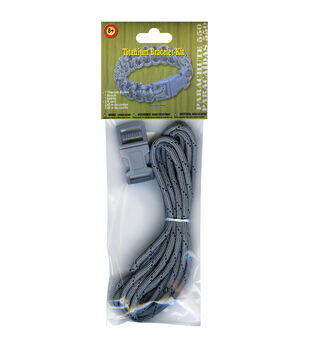 Parachute Cord Project Kit Makes 1-Titanium
