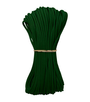 Parachute Cord 4mm X 100'-Kelly Green