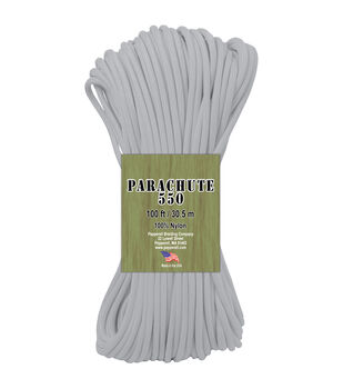 Pepperell Braiding Parachute 550 Glow In The Dark Cord 100'