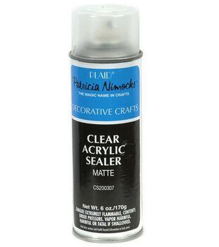 Plaid Clear Acrylic Sealer-Matte 6 oz.