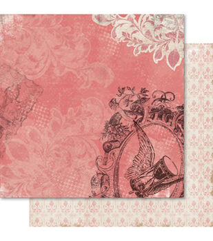 """Reminisce Double-Sided Cardstock 12""""X12""""-Hourglass"""
