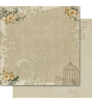"""Arcadia Double-Sided Cardstock 12""""X12""""-Tranquil"""