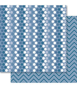 Ruby Rock-It Fusion Double-Sided Cardstock Paper Spotti