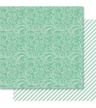 Ruby Rock-It Fusion Double-Sided Cardstock Paper Flourish