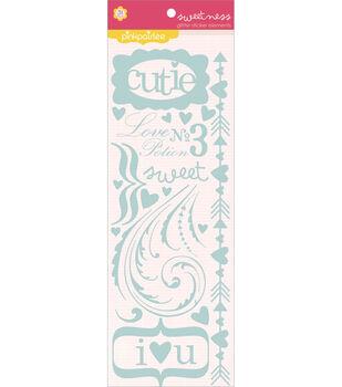 Pink Paislee Glitter Stickers-Elements-Sweetness
